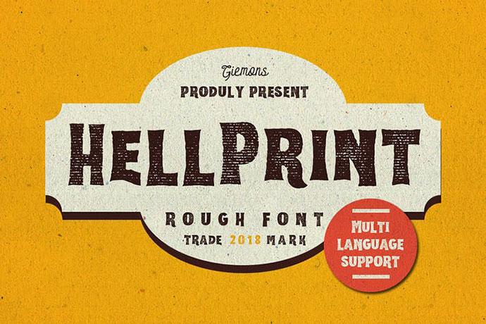 Helprint Typeface
