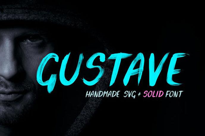 Gustave SVG Font