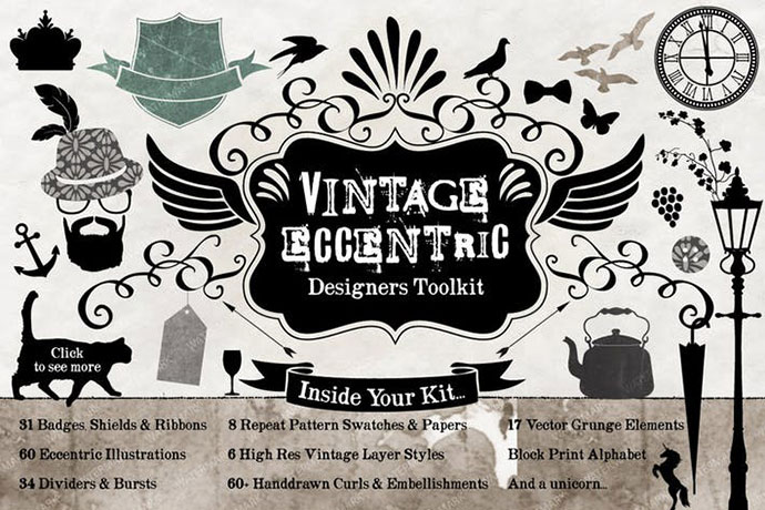 Vintage Eccentric Designers Toolkit