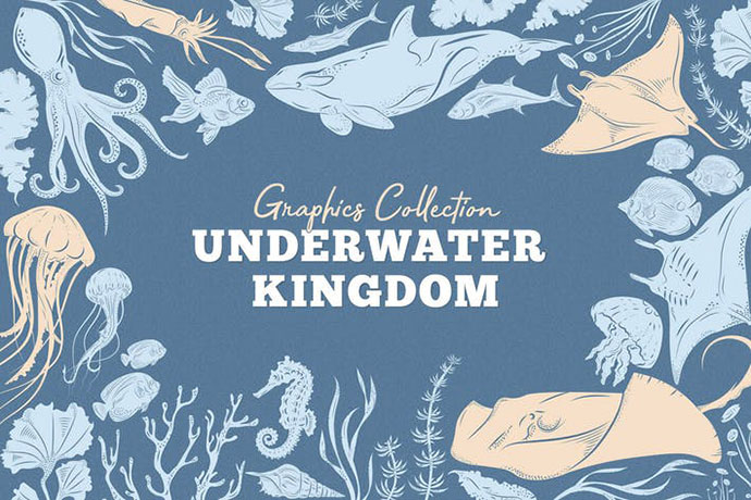Underwater Kingdom Graphics Toolkit