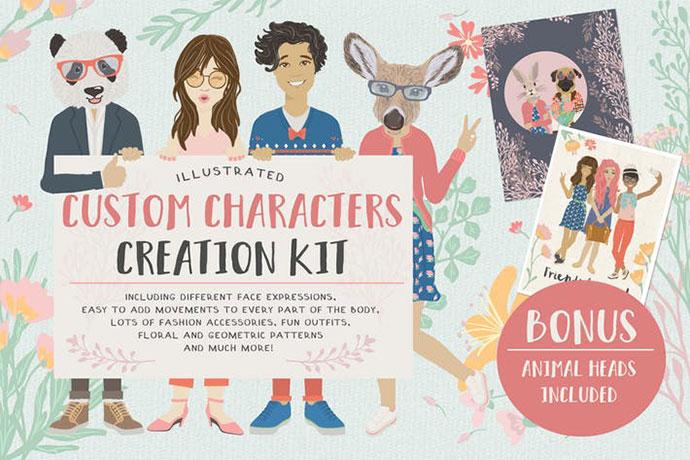 Custom Character Creation Kit