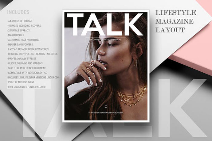 21 Epic InDesign Fashion Magazine Templates – Bashooka
