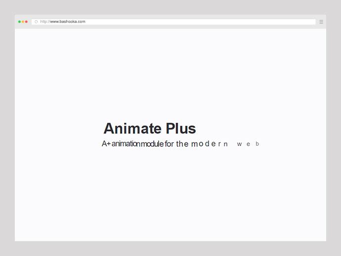 Animate Plus