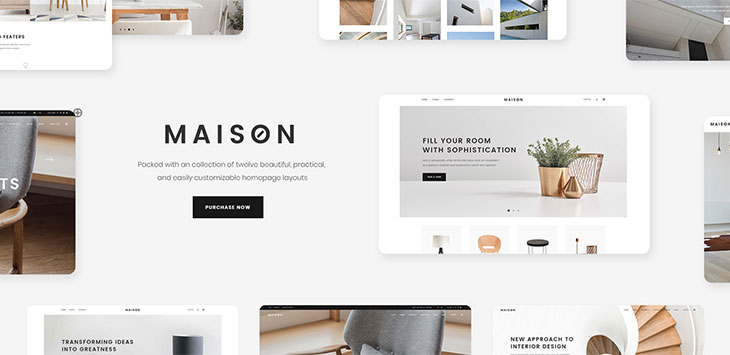 21 Portfolio Wordpress Themes For Interior Designer U0026 Architect   Web U0026  Graphic Design   Bashooka