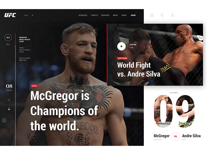 UFC creative concept