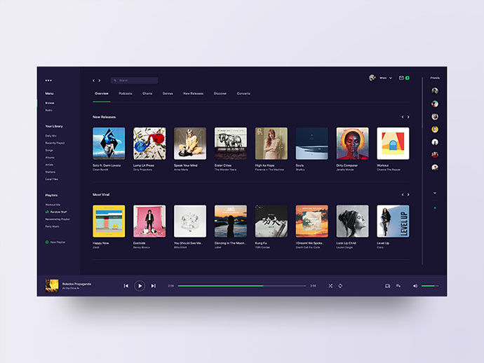 Spotify - reimagined