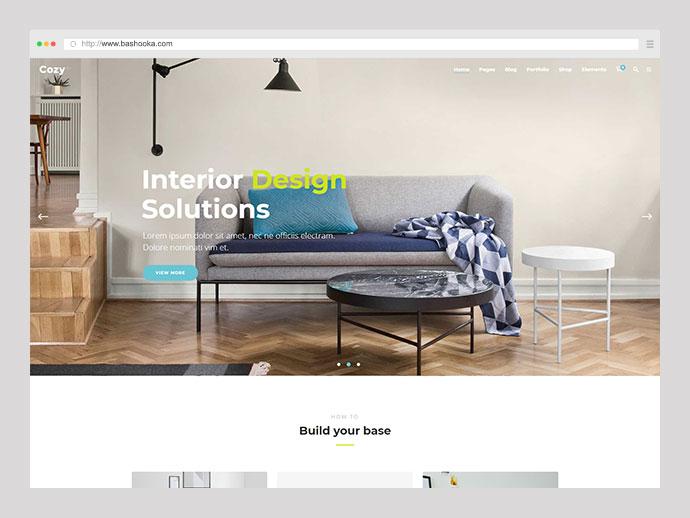Cozy - Interior Design, Decor & Architecture Theme