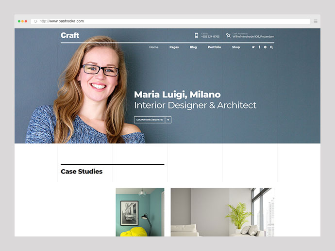 Craft Portfolio - Architecture & Design Portfolio
