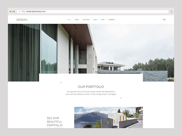 Dessau - Contemporary Theme for Architects and Interior Designers