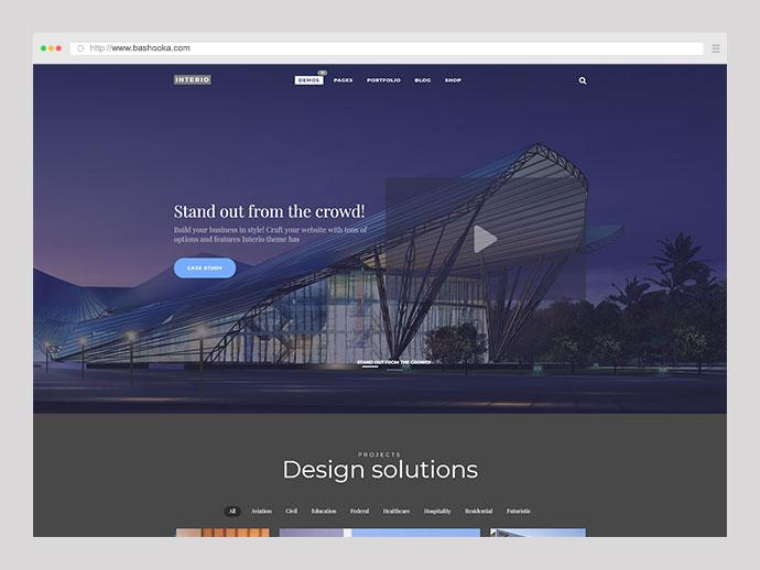 Interio | WordPress Architecture Theme