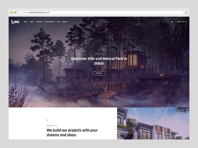 Luxe Architecture - Architecture & Interior Design WordPress Theme