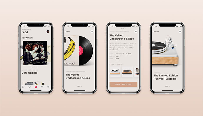 Vinyls E-Commerce App