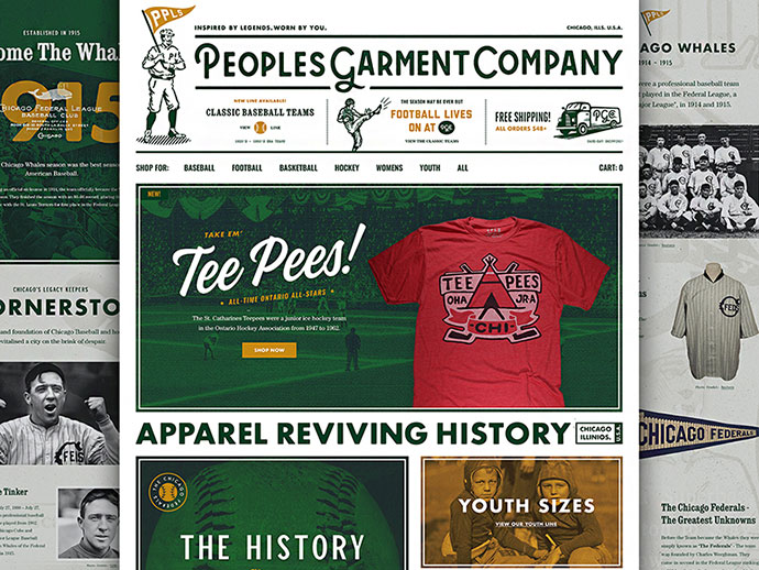 Peoples Garment Co. Webstore