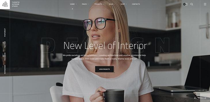 21 Portfolio WordPress Themes For Interior Designer & Architect