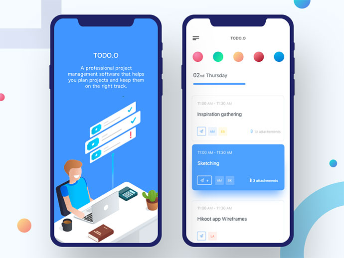 Todo Io - Project Manage App
