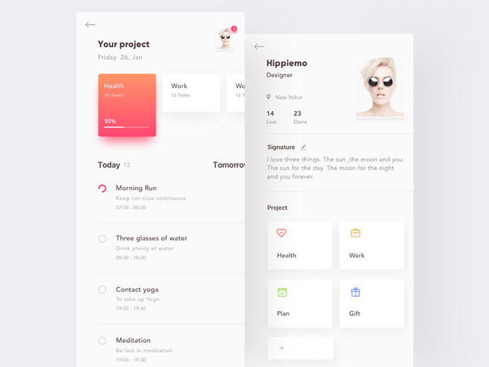 Project Task App