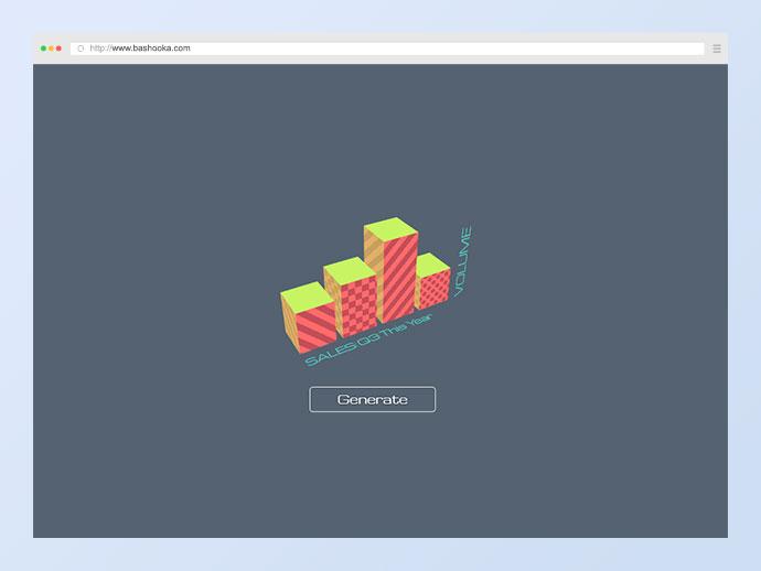 3D Animated Bar Chart