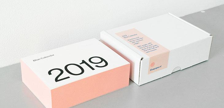 30 Cool Calendar Design Ideas For 2019