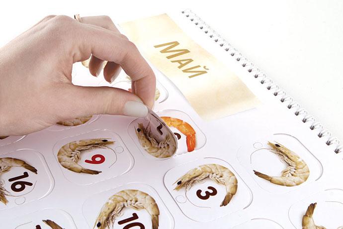 Food peeling calendar