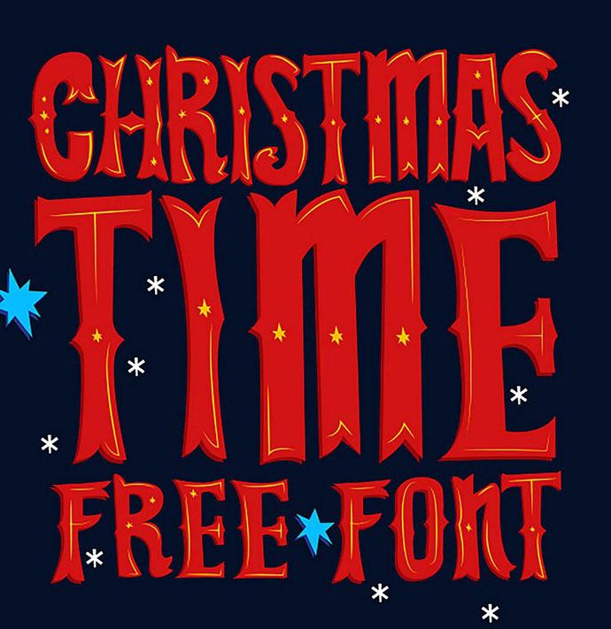 Christmas Time FREE Font