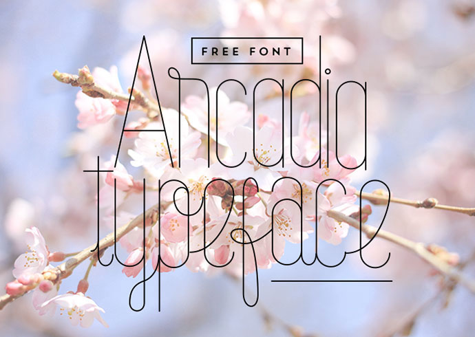Arcadia Typeface (Free Download)