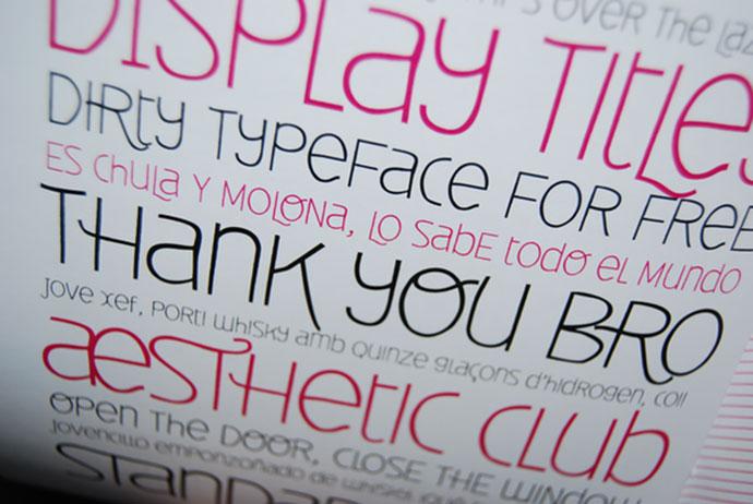 Deibi v1.0 - free font