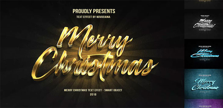 25 Cool Christmas Photoshop Add-ons For Designer & Photographer
