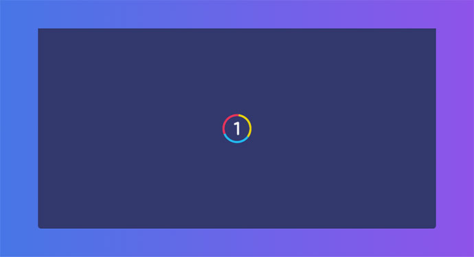 Pure CSS SVG Countdown (Ready)