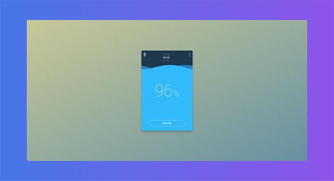 RemindMe App Concept (CSS animations & mobile)