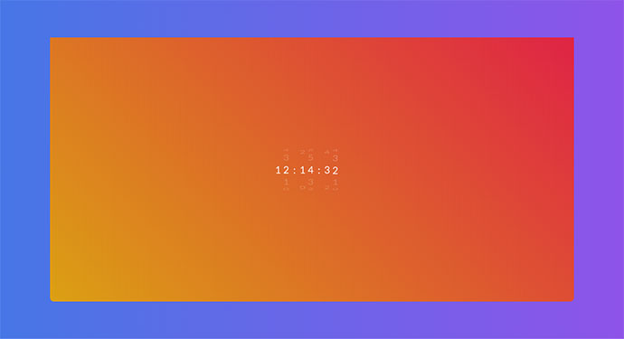 Rotate Clock [CSS Only]