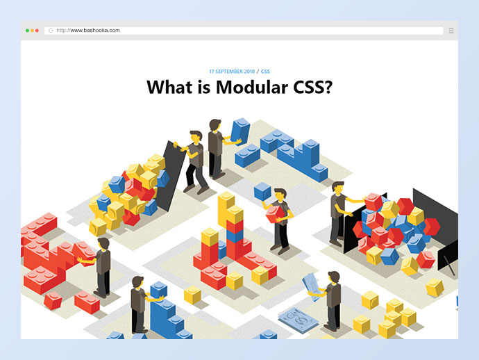 What is Modular CSS?