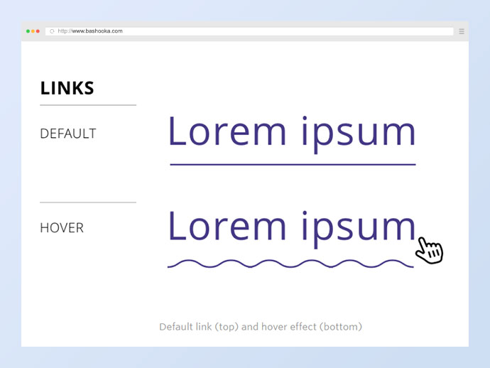 Having fun with link hover effects