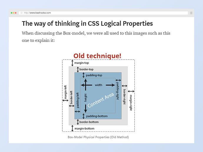 New CSS Logical Properties!