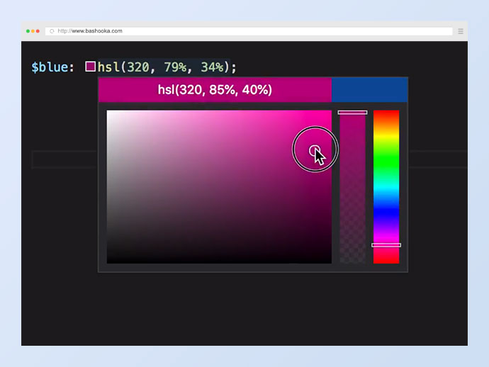 On Switching from HEX & RGB to HSL