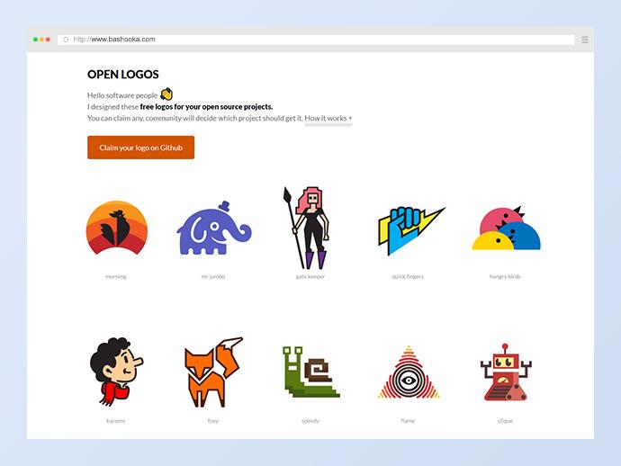 Open Logos