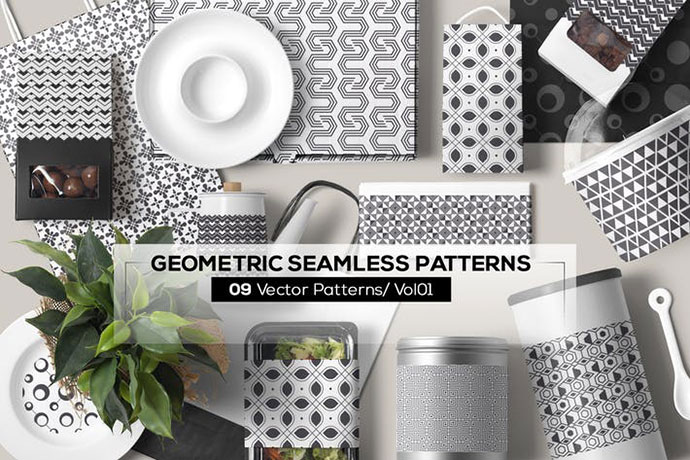 09 Geometric Seamless Patterns