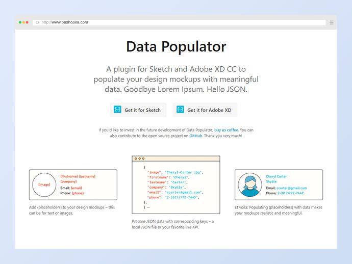 Data Populator