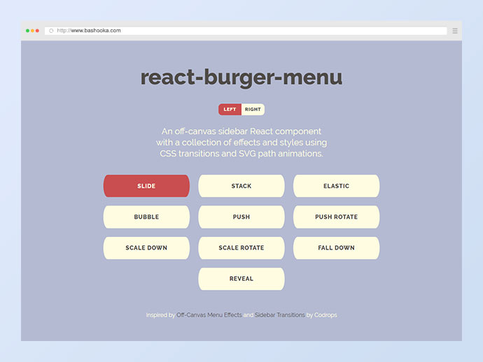 20 Javascript Navigation Menu Libraries 2019 – Bashooka