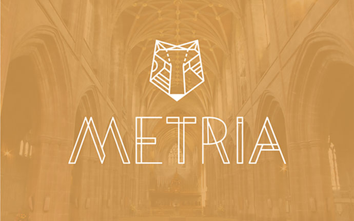 Metria Free Display Font // Free Download