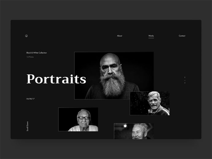 Photographer Web Design