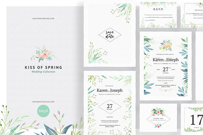 Kiss Of Spring Wedding Collection