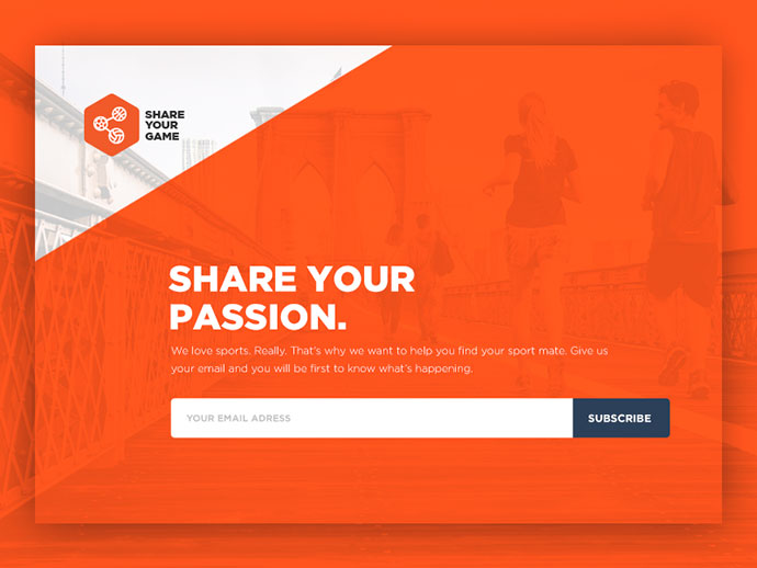 Landing Page for SYG
