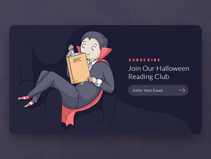 Young Dracula Reading