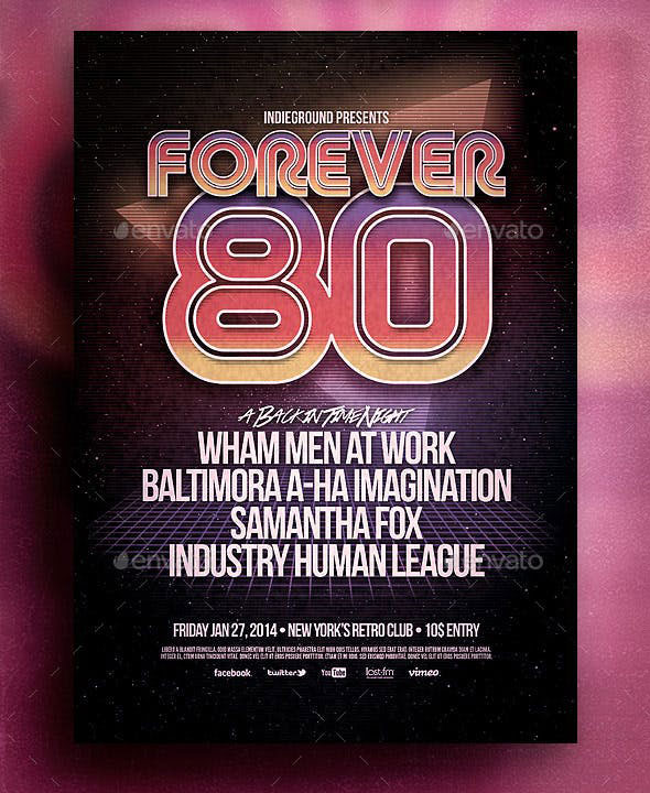 80's Flyer/Poster
