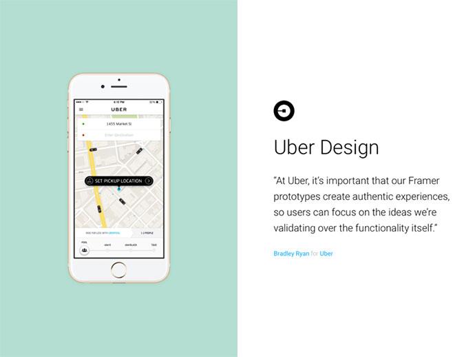 Framer Testimonials — Uber