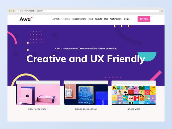 Portfolio AWA - Portfolio WordPress Portfolio & Agency