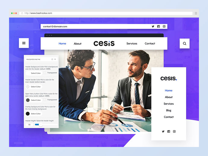 Cesis | Responsive Multi-Purpose WordPress Theme
