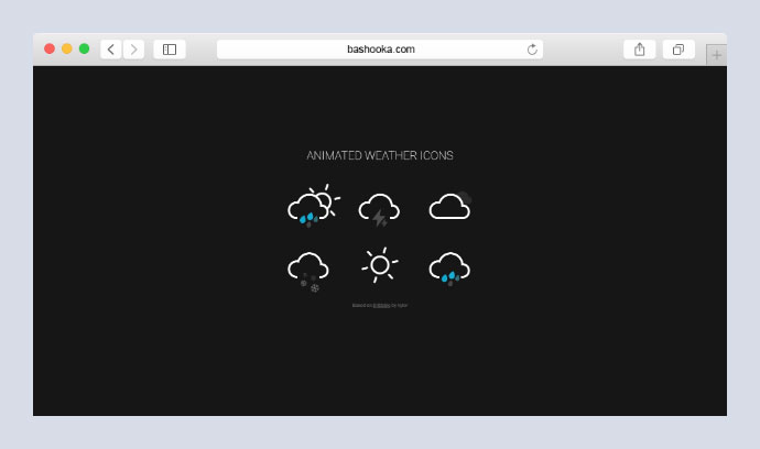 Animated Weather Icons