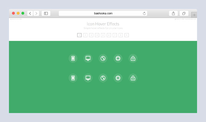 Icon Hover Effects