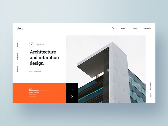 Architecture Web Exploration